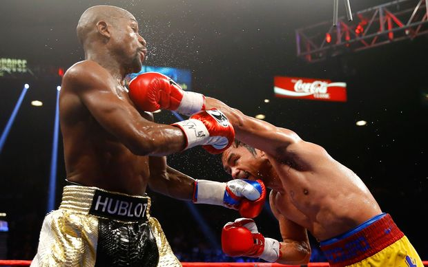 the fiji times mayweather says pacquiao fight on